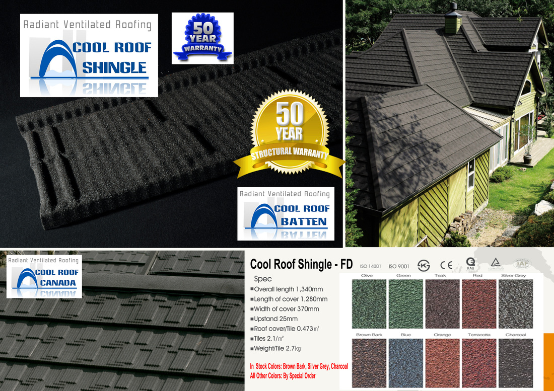Cool Roof Shingle